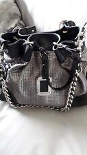 VIA REPUBBLICA FOR RUSSELL & BROMLEY Metallic Silver & Black Shoulder/Handbag