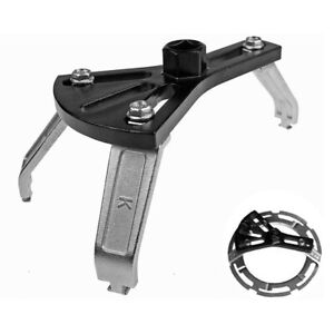 Adjustable 3-jaw Car Gas Cover Fuel Pump Lid Tank Removal Spanner Wrench Tool