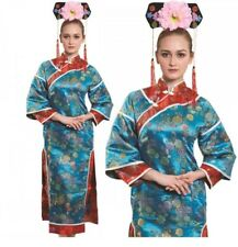 Oriental Japanese Lady Costume Adult Deluxe Geisha Carnival Fancy Dress New