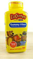 L'il Critters Gummy Vites Kid Daily Multi Vitamin Mineral 300 EXP 08/2021