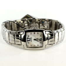 Seiko Watch for Women w/Mother of Pearl Dial and 10 Genuine Diamonds