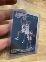 Shaquille O'neal Rookie Card 1992 Upper Deck #1b INVEST INFLATION HEDGE NR