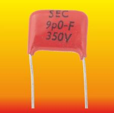 9 pF 350 V LOT OF 2 LEMCO SEC SILVER-MICA CAPACITORS