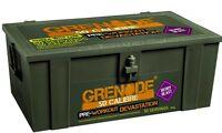 Grenade 50 Calibre 580g Pre Workout and Muscle Pump 50 Servings. Lemon Raid