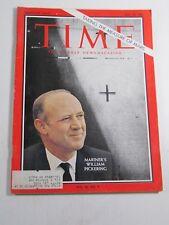 Time Magazine- July 23, 1965- William Pickering