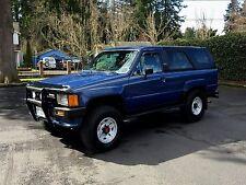 1986 Toyota 4Runner Deluxe