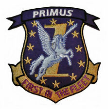 """Battlestar Galactica Primus 1st Fighter Squadron 3 1/4"""" Wide Embroidered Patch"""