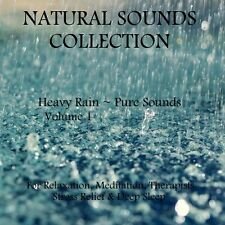 NATURAL SOUNDS CD - HEAVY RAIN FOR RELAXATION, MEDITATION STRESS RELIEF & SLEEP