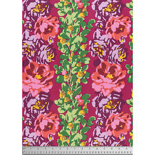 FreeSpirit Amy Butler ROSE VINE 100% Cotton Fabric -WINE- £12.50 per M-Free P&P