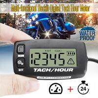 RacingPowerSports Digital Hour Meter Motorcycle ATV Snowmobile Marine Dirt Bike