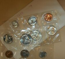 UNCIRCULATED YEAR SET - 1958 P & D MINTS - 90% SILVER US MINT ISSUE - SEALED