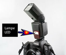 Flash Speedlite WS560 avec lampe LED intégrée pour Nikon Canon Fuji Panasonic