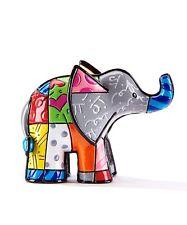 ROMERO BRITTO MINI MINIATURE 3 D FIGURINE ELEPHANT ** NEW**