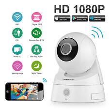 ANNKE 1x 2MP 1080P HD Video Wireless WIFI Security IP Camera PIR Pan/Tilt Remote