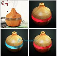 300ml Ultrasonic Humidifier Purifier LED Essential Oil Diffuser 7 Color Changing