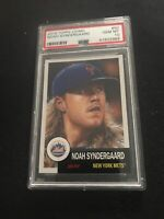 2018 Topps Living Set Noah Syndergaard #50 METS PSA 10 GEM MINT