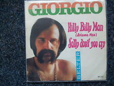 Giorgio Moroder - Hilly Billy Man (Arizona Mary Roos) 7'' Single SUNG IN ENGLISH