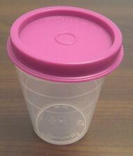 Tupperware C 46 Wichtel 50 ml kleiner Behälter klar - Deckel lila violett Neu