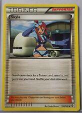 Pokemon 4 x Skyla Supporter Various Set Uncommon Play Set