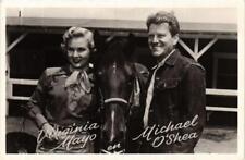 CPA VIRGINIA MAYO. MICHAEL O'SHEA FILM STAR (601498)