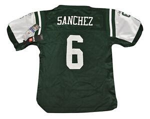 Reebok NFL Youth Girls New York Jets Mark Sanchez NWT S, M, L, XL