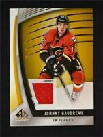 2017-18 Upper Deck SP Game Used Gold Jersey #48 Johnny Gaudreau