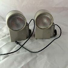 Lot of 2 Polaroid Wink Light Model 252 Vintage Camera Photography Display Prop