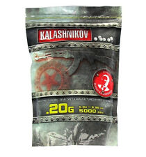 "SACHET 5000 BILLES (BBS) 0.20G KALASHNIKOV PISTOLET AIRSOFT ""NEUF"" 123500"