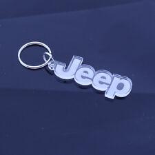Jeep Car Truck Badge Keyring - Handmade Laser Cut Gift