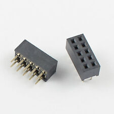 20Pcs 2mm 2.0mm Pitch 2x5 Pin 10 Pin Female Dual Row Straight Pin Header Strip
