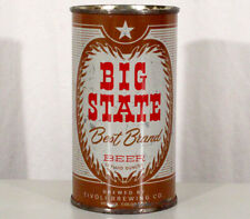 """Big State """"Best Brewed Beer"""" Flat Top Can Tivoli Denver Colorado Rocky Mountains"""