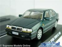 LANCIA THEMA TURBO IE MODEL CAR 1:43 SCALE GREEN + DISPLAY CASE SALOON NOREV K8