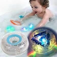 New Bath time LED Waterproof flashing coloured disco ball, Ideal for hot tub fun