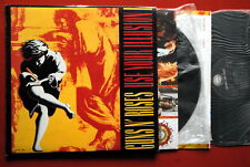 GUNS N' ROSES USE YOUR ILLUSION 1+INNER VERY RARE EXYUGO 2LP N/MINT W AXL ROSE