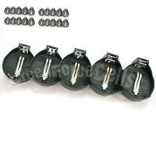 20 pcs Battery Button Coin Cell Socket Holder Case For LIR CR2032 CR2025
