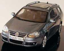 VW VOLKSWAGEN GOLF 5 VARIANT 2007 PLATINUM GREY MET AUTOART 1K9 099 300 D7X 1/43