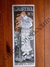 Publicité DESINFECTANT LAURENOL ART NOUVEAU     advert