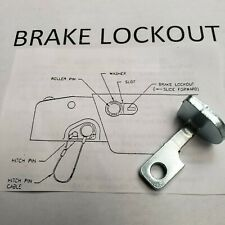 UFP BRAKE ACTUATOR SIDE LOCKOUT BRACKET #34557