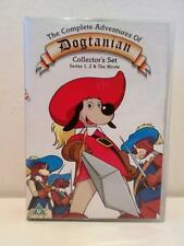 Vintage Cartoon TV Show Dogtanian Series 1 & 2 Complete Collection DVD Boxset