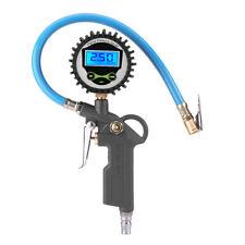 Manometro Digitale LCD Misuratore di Pressione Gomma Pneumatici Auto Moto Camper