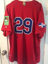 Adrian Beltre Game Used Jersey 2017 WBC Dominican Republic Authentic MLB Holo