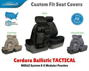 Seat Covers Tactical Ballistic Molle For Nissan Titan Custom Fit