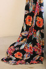 New Look size 14 maxi dress, multicoloured floral pattern