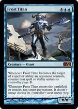 FROST TITAN M12 Magic 2012 MTG Blue Creature — Giant MYTHIC RARE