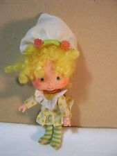 Vintage Strawberry Shortcake Doll Figure Made in Hong Kong