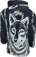 New Womens Double Fleece Animal Print Jacket With Pockets & Hood, Soft & Warm