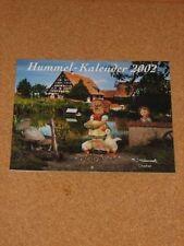 Hummel Kalender 2002 | Hochglanz Wandkalender 02