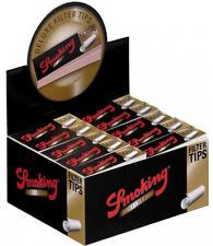 Smoking Filter Tips Box Black Deluxe Medium