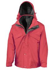 Señores invierno chaqueta 3in-1 chaqueta Parka impermeable capucha xs-2xl 3xl 4xl sobre tamaño