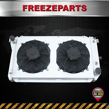 For Ford EA EB ED Falcon Fairlane Fairmont NA NC Aluminum Radiator + Fan Shroud